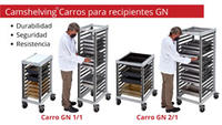 carros recipientes GN